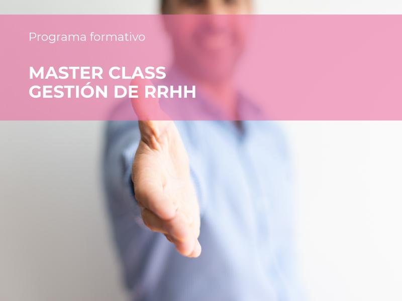 Master Class gestión RRHH